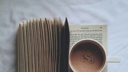 Image result for books and hot chocolate tumblr