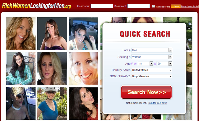 Dating site for affluent