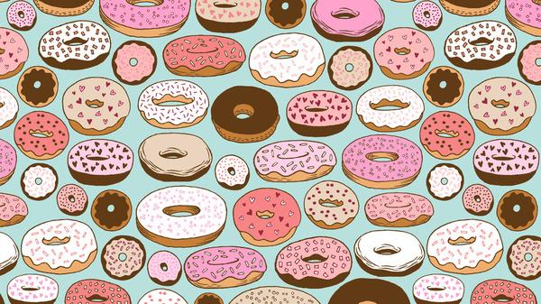 Free Donut Wallpaper Tumblr