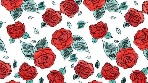Dibujos flores tumblr  Imagui