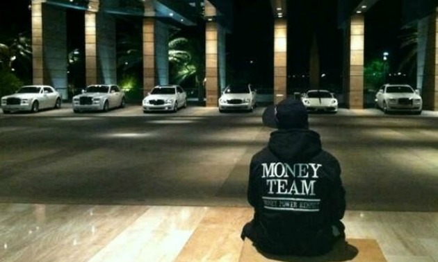 Mayweather Cars And Money Mayweather Gets Money
