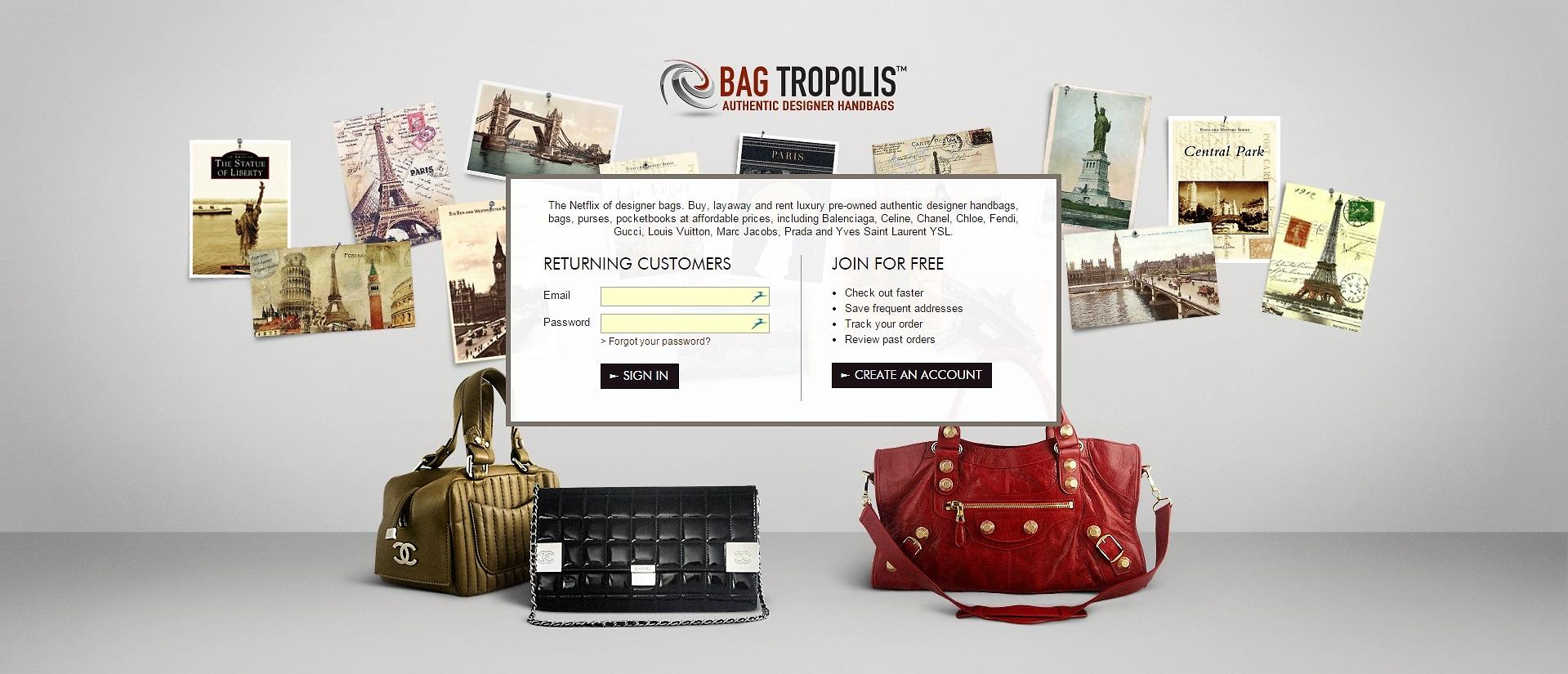 Designer purse layaway