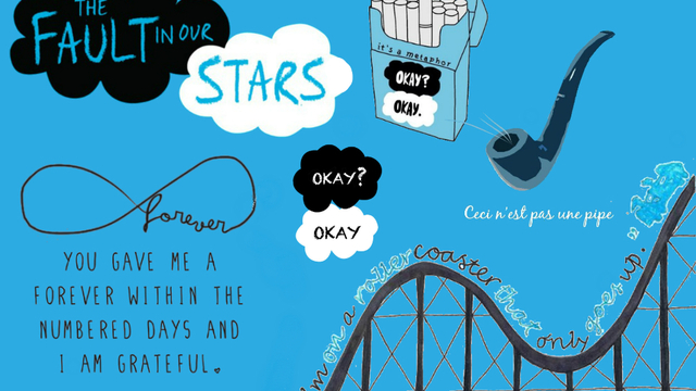 What are some themes in The Fault in Our Stars?