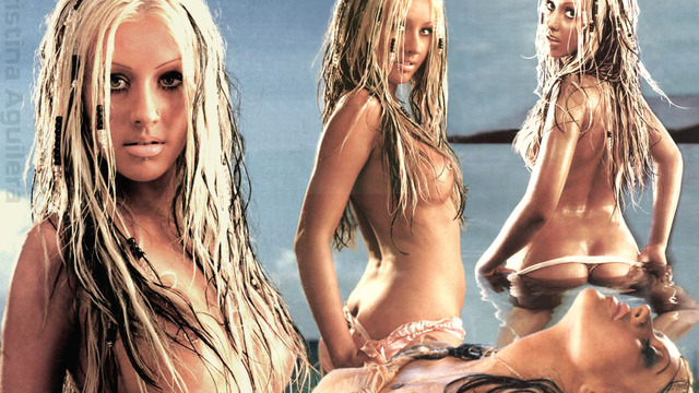 Hot christina aguilera nude