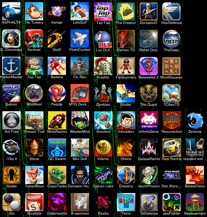 down free games for iphone