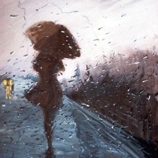 Resultado de imagem para garota na chuva tumblr