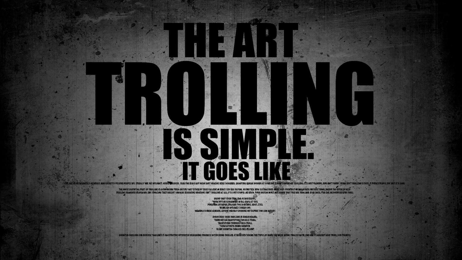 the art of trolling Art of trolling troll kan temmes the art of trolls follow your art rapture of the deep: the art of ray troll the art of trolling: a complete guide to freshwater.
