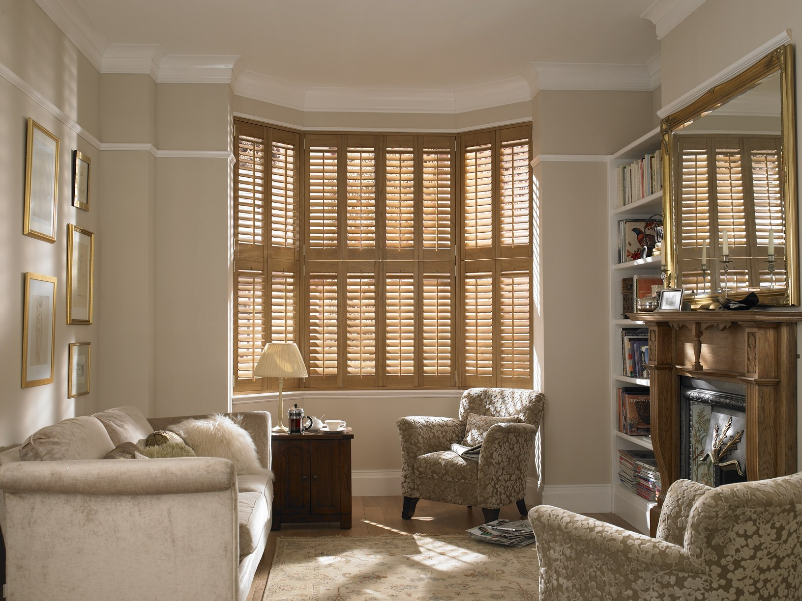 living room blinds with curtains - euskal