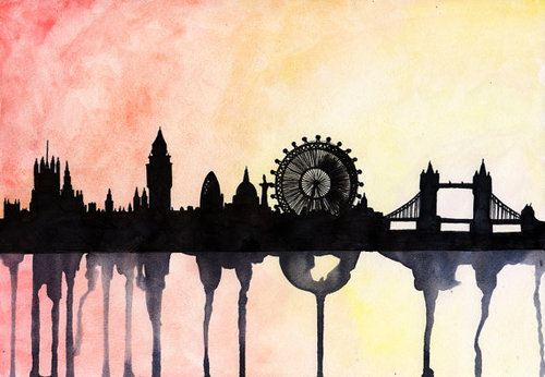 London-Watercolour-paintthemoment
