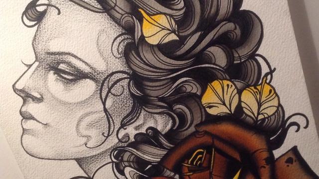 Artist tattoos tumblr femininas