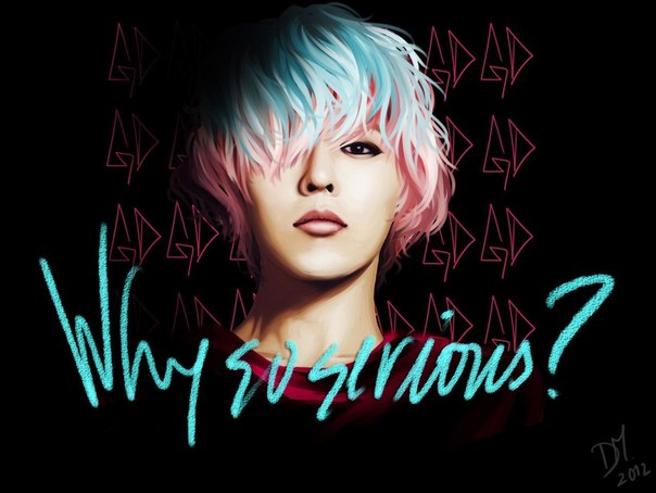 Pix For > G Dragon Crayon Cover