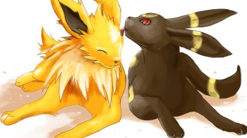 Image result for animated baby umbreon gif