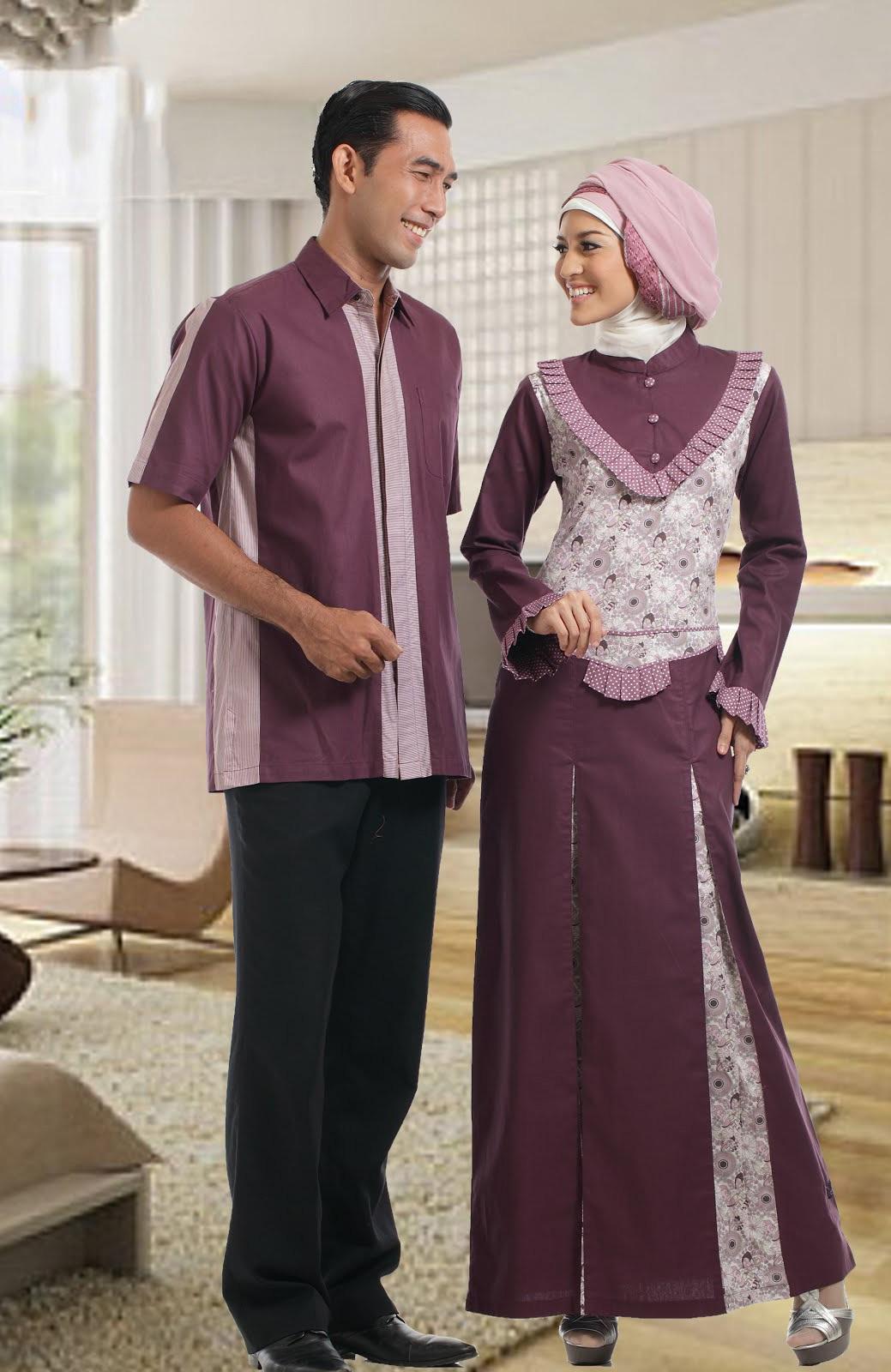 Model Baju Batik Gamis Yg Terbaru