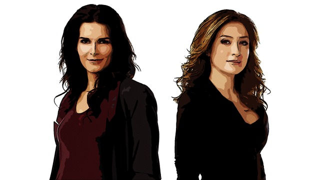 Rizzoli and isles sexy