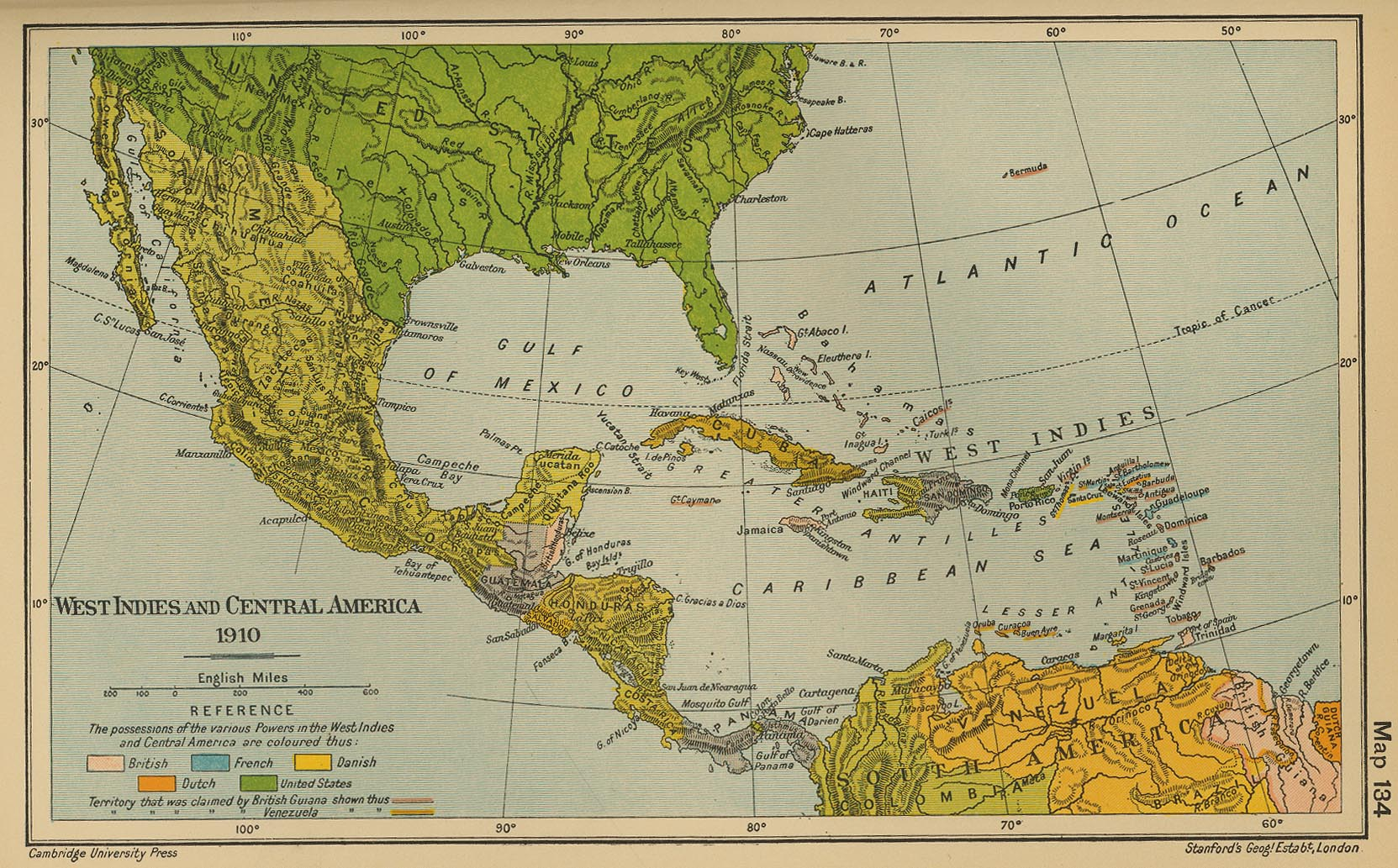 Spanish latin america map