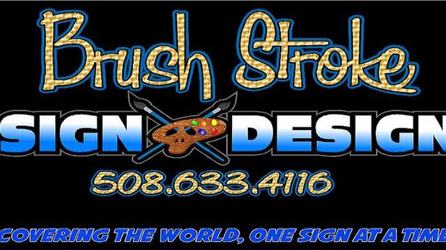 Brush Stroke Sign Design Brush Stroke Sign Design