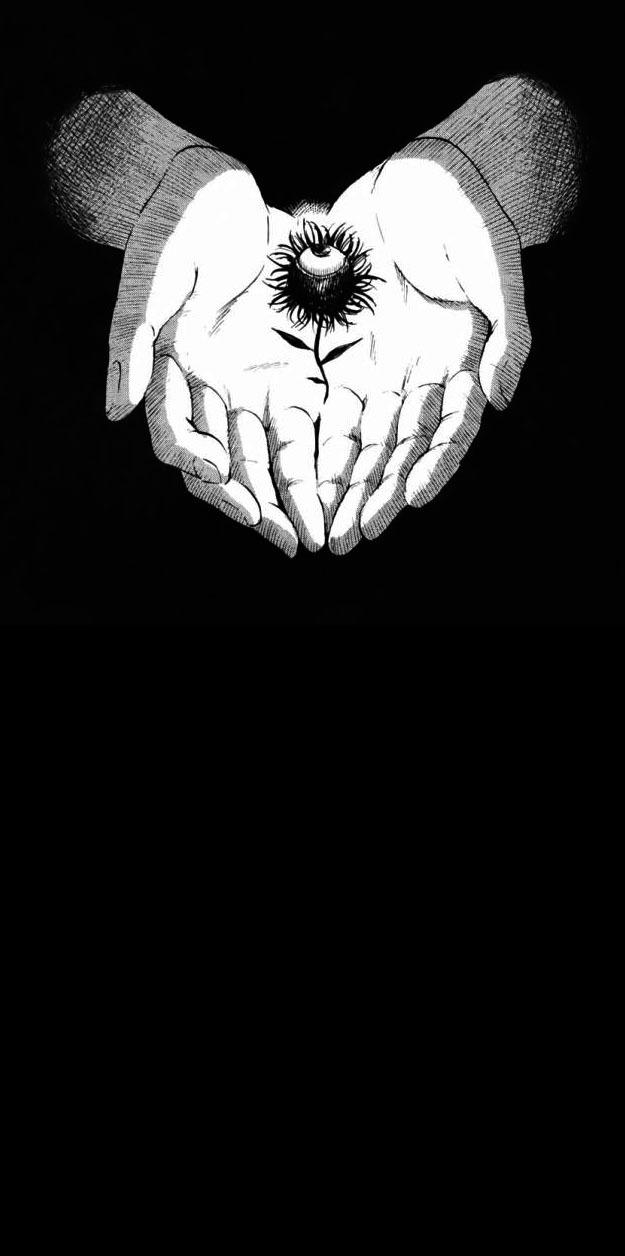 Черно-белый свет солнечных