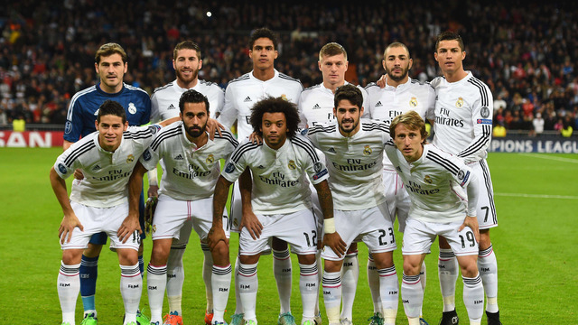 Real madrid all the way