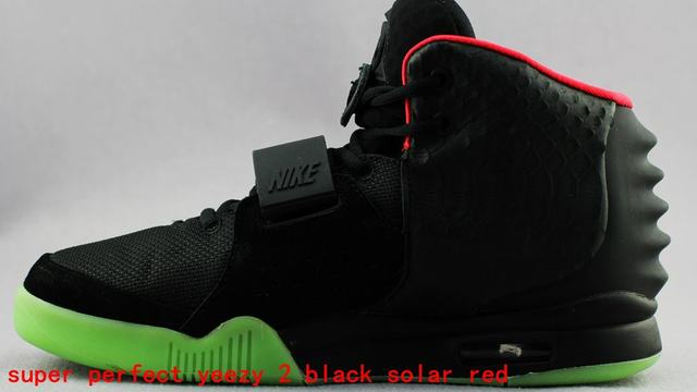 bbcc75af674 2013 Nike Air Yeezy 2 Kanye West Red October Night Light Men s Shoes
