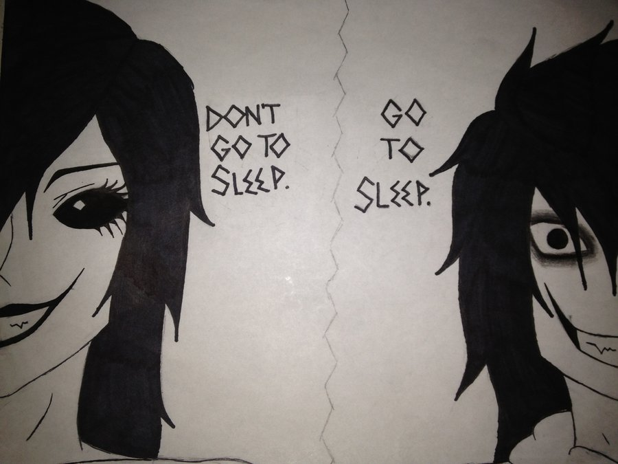 Drawings of Jane The Killer And Jeff The Killer Jane And Jeff The Killers