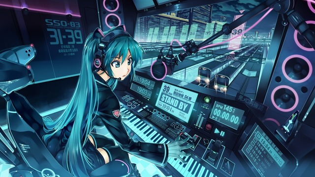 Miku nightcore anime girls