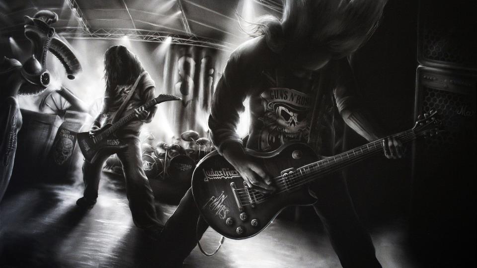 Znalezione obrazy dla zapytania rock metal tumblr