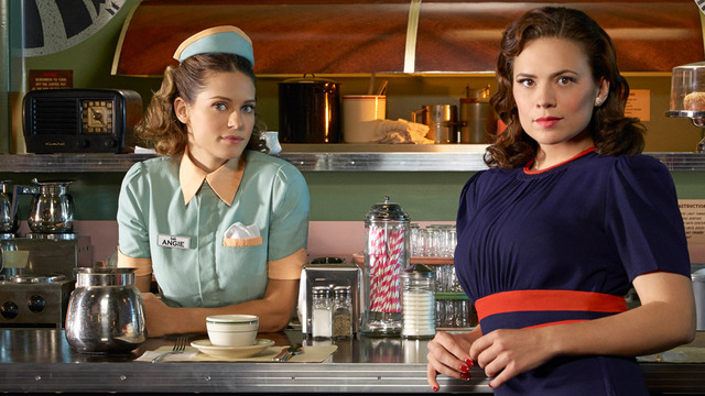 Image result for angie martinelli and peggy carter