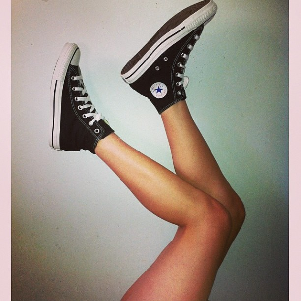 F Yeah Chicks in Chucks!  Tumblr