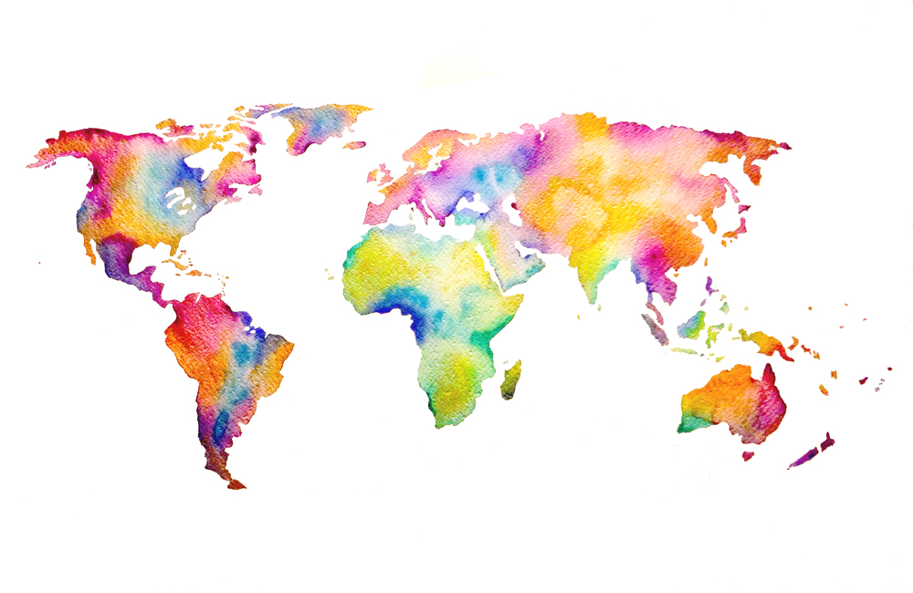 Travel Map Tumblr 9218...