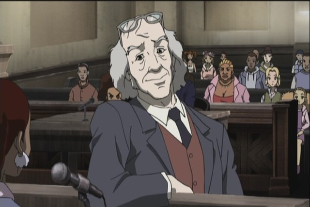 The Boondocks The Trial of Robert Kelly TV Episode 2005