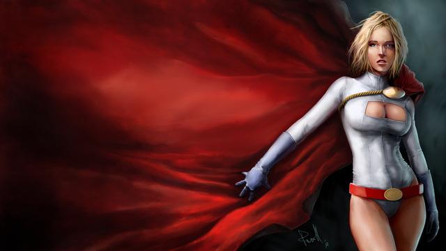 (kara zor-l / power girl)