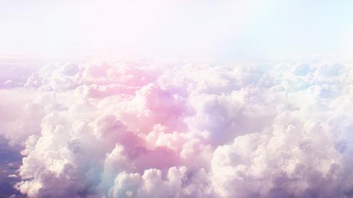 Pastel Clouds Backgrounds Pastel Cloud ☁