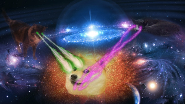 Facebook Cat With Laser Eyes Gif