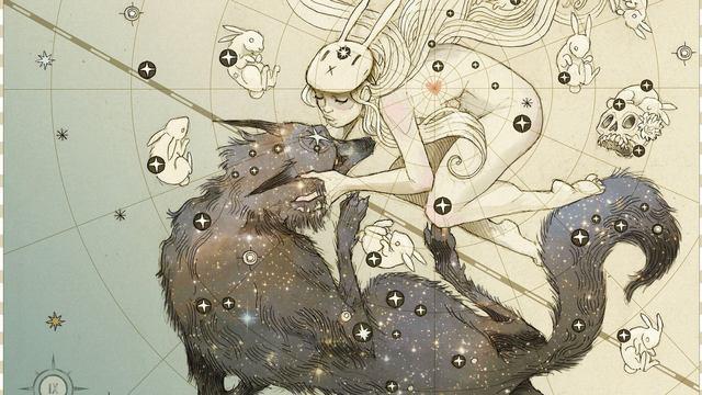 Výsledek obrázku pro bunny girl and wolf boy