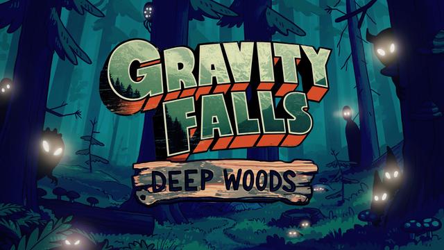 Znalezione obrazy dla zapytania gravity falls deep woods
