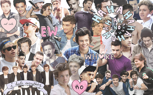 One Direction Collage Tumblr Wallpaper | www.pixshark.com ...