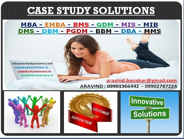 mba marketing case study solutions Marketing management, finance management or any other management related case study students of mba finally conclude appropriate solution case studies.