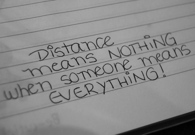 Eu Tento Te Esquecer Mas Tudo Que Eu Escrevo é Sobre Você: Amante Distante