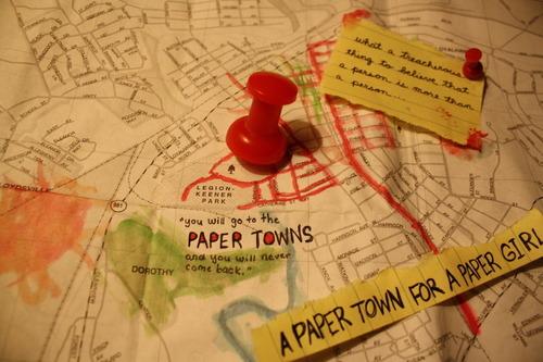 Resultado de imagem para cidades de papel tumblr