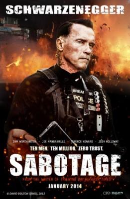 Movie Review – Sabotage (2014)