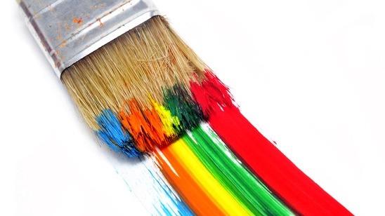 Pinsel palette