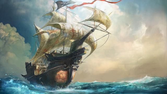 Pirates on deck